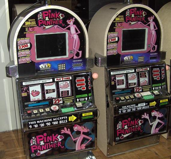 pink panther slot machine troubleshooting
